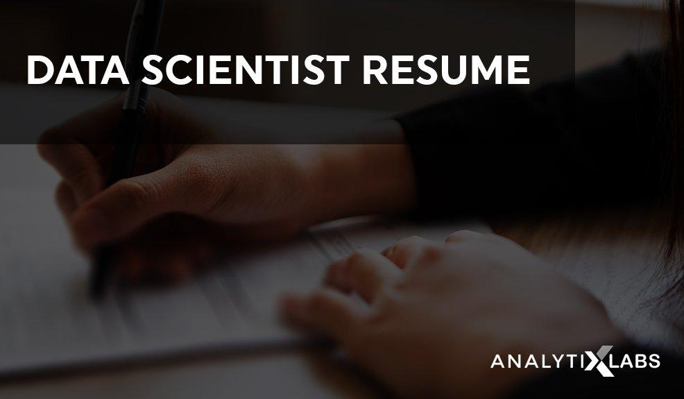 How to Write Data Scientist Resume With Samples